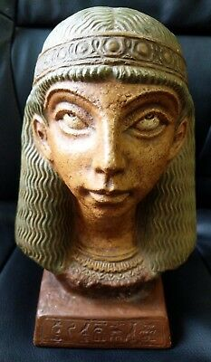 Rare ANCIENT EGYPTIAN head ANTIQUE From Japan