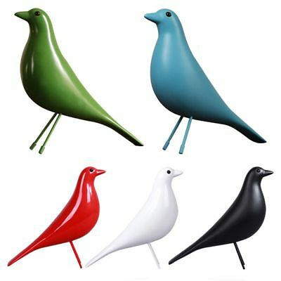 Resin Craft Bird Figurine Statue Office Ornaments Sculpture Home Decoration N2N6