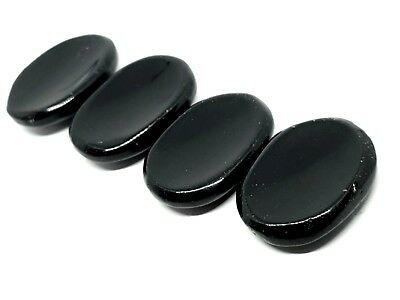 Black Obsidian AAA Grade Thumb Stone Worry Stone Protection Healing Gemstone