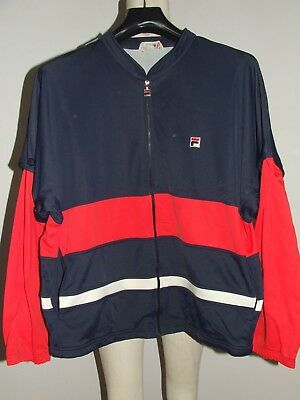 FILA GIACCA JACKET BLOUSON VINTAGE 80'S MADE IN ITALY tg. 54