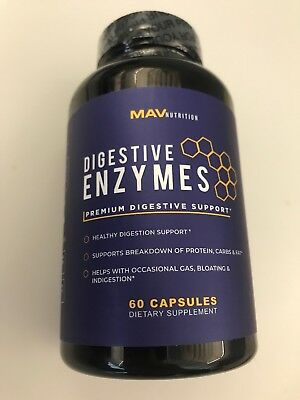 Mavnutrion Premium Digestive Enzymes + Probiotics Supplement – All Natural