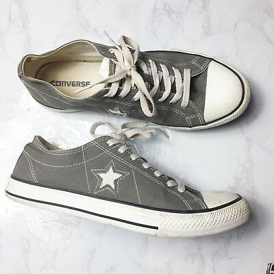Converse One Star Men Gray Sneakers