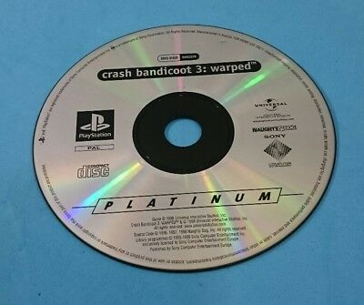 Juego Playstation Psx Ps1 Pal Español - Crash Bandicoot 3 Warped Platinum