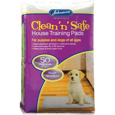 Johnson's Clean n Safe Puppy House Training Pads