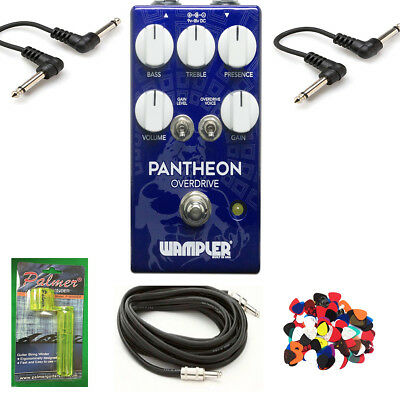 New Wampler Pantheon - Overdrive Guitar Effects Pedal - Made in USA *Free Stuff