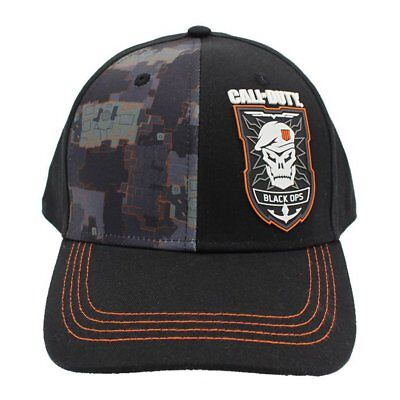 Call of Duty COD Black Ops 4 Camo Snapback NEW