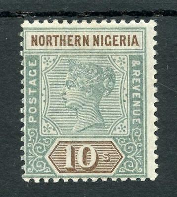 Northern Nigeria 1900 10s green and brown SG9 MM
