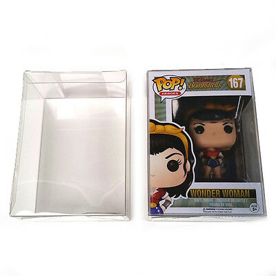 "Funko POP! 4"" Chalice Box Protectors - Crystal Clear .50 mm Thick Case Lot of 20"