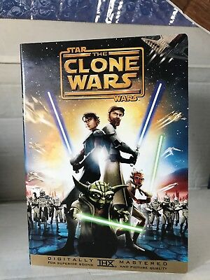 Star Wars: The Clone Wars  DVD No Scratches Digitally Mastered THX Widescreen