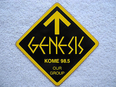"""KOME 98.5 FM - Decal / Sticker - """"GENESIS"""" - New - Limited VERY RARE!!"""