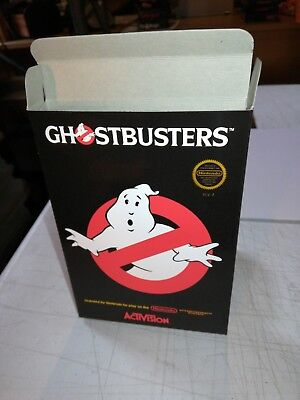 Ghost Busters NES Nintendo Replacement Box/Art Case !!! Complete your game!