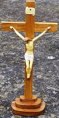 Exclusive Authentic Jesus Christ On Cross Crucifix Figurine Hand Carved