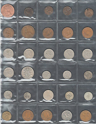 """""""NICE OLD"""" Great Britain Coins 30 In Total V.F. To X.F."""