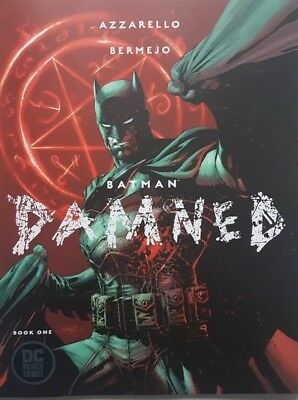Batman Damned #1 1st Print Cover B Jim Lee Variant DC Black Label No Reprints!