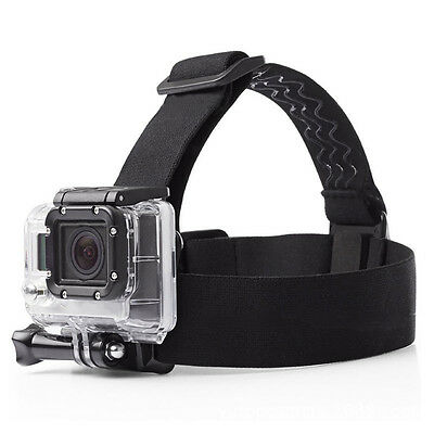 Adjustable headband SJCAM accessory elastic mounting strap for GoPro Hero 5 4 3