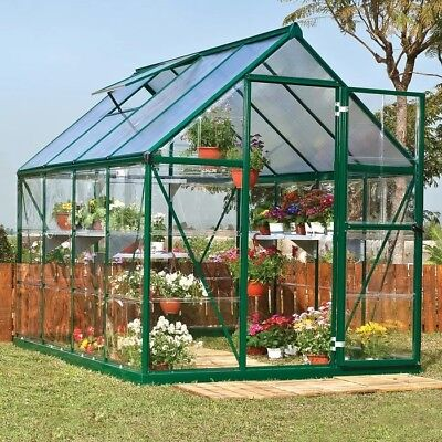outdoor greenhouse kit - new in box - comes with extras!!