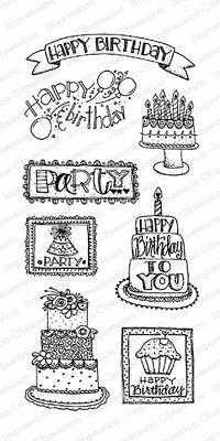 Take Good Care CL475 Impression Obsession IO Clear Cling Stamp Set