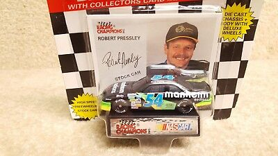 New 1994 Racing Champions 1:64 NASCAR Robert Pressley Manheim Chevrolet Lumina