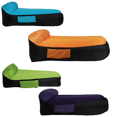 Inflatable Lounger Chair Air Lounger Inflatable Bag Fast Inflate Air Sofa S Y7G7