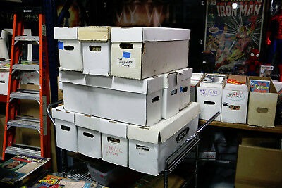 300+ Comic Books Lot Marvel DC Dark Horse Image Vertigo Indie COMICS by the Box!