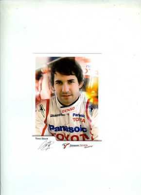 Timo Glock Toyota F1 2008 Official Team Issued Card
