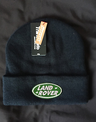 Land rover or Range rover custom embroidered thinsulate beanie hat BNWT