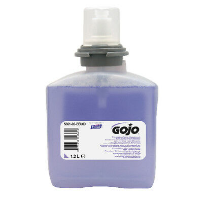Gojo Premium Foam Hand Soap With Skin Conditioners 1.2 Litre Refill (Pack of 2)