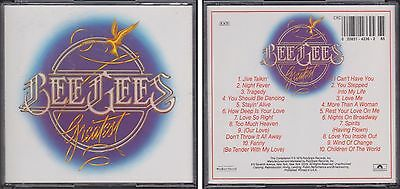 BEE GEES Greatest Hits 1975-1979 Polydor 2 CD Barry~Robin~Maurice Gibb 70s Disco