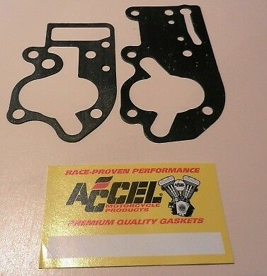 Oil Pump Body & Oil Pump Cover Gaskets Harley Shovelhead 1968 1980