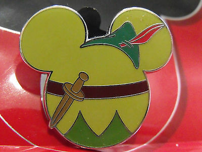 2012 Disney Mickey Mouse Ears Icon Mystery Trading Pin Peter Pan