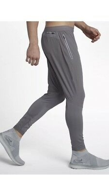 34e7f5365c7a0 Nike Flex Swift Running Pants Grey Mens Size Medium New With Tags 857840 036