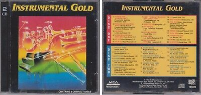 INSTRUMENTAL GOLD Various Artists 1992 Good Music 2 CD 60s & 70s 40 Great Hits