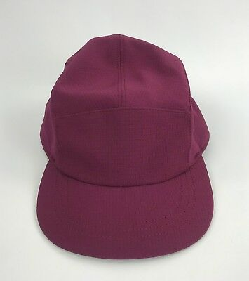 a29b0d74 Lululemon Five Times Hat True Deep Burgundy Adjustable Women's Running Cap  NEW