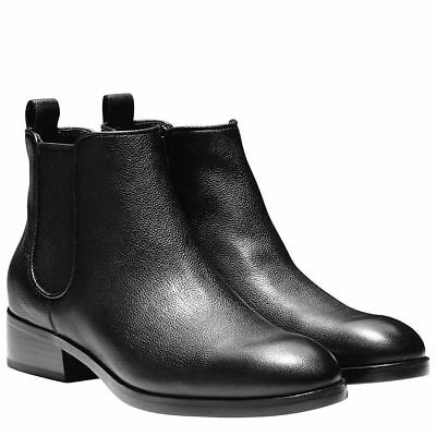 Cole Haan Womens Landsman Bootie - Black Leather New!
