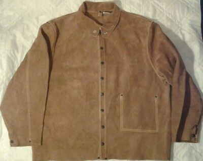 Steiner 92153 XL Jacket Brown Split Cowhide Extra Large