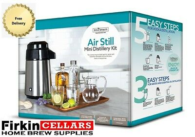 Still Spirits Turbo Portable Air Still Essentials Home Brew Water Distilling Kit