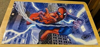 Spiderman Art Print/poster by Greg Horn Signed/Autographed 11x17