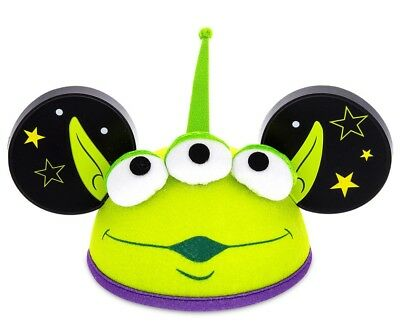 Disney Parks Toy Story Alien Mickey Ears New With Tags