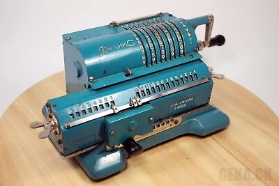 Rare! Mechanical Calculator Felix Arithmometer Vintage Adding Machine Works!