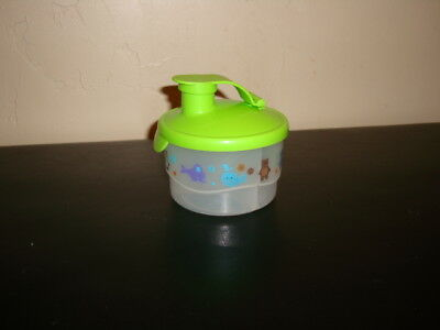 Tupperware Formula Baby Formula Powder Dispenser Canister Container 3 Section