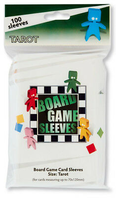 100 Board Games Sleeves Extra Large 65x100mm Clear Kartenhüllen Hüllen AT-10407 Gry i konsole