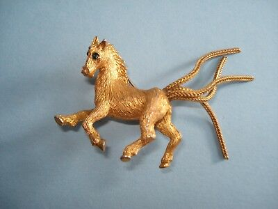 Broche Vintage Cheval Poney