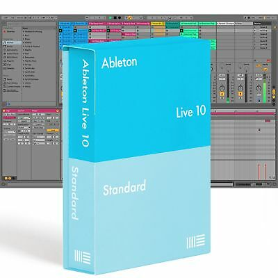 Ableton LIVE 10 STANDARD Music Production Recording Software DAW Mac PC Boxed OB