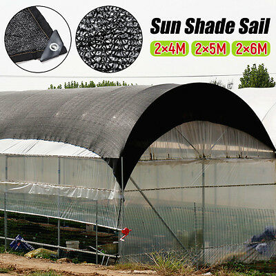 Sun Shade Sail UV Protection Awning Net Canopy Breathable Mesh Netting Garden US