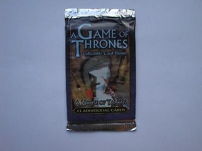 A House of Talons Booster - A Game of Thrones - CCG TCG LCG - New & Sealed