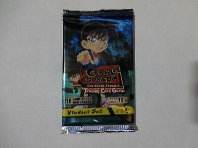 Case Closed, One Truth Prevails Booster - Premier Set - CCG TCG - New & Sealed