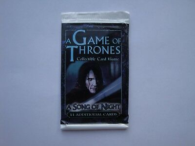 A Song of Night Booster - A Game of Thrones - CCG TCG LCG - New & Sealed