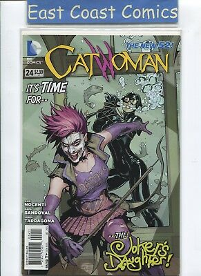 Catwoman #24 -  Jokers Daughter - Dc New 52
