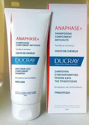 Ducray Anaphase Shampoo Complement To Treatments Against Hair Loss 200Ml 509717c076b