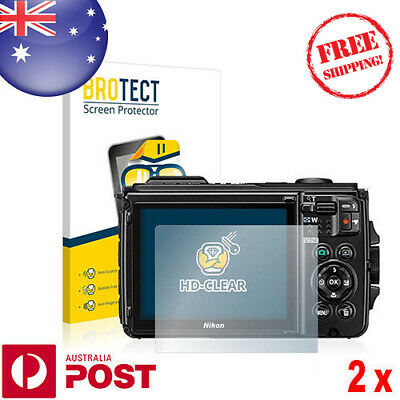 2x BROTECT® HD-Clear Screen Protector for Nikon Coolpix W300 - P094A